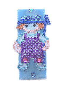 CHILDRENS APPLIQUE CLIP